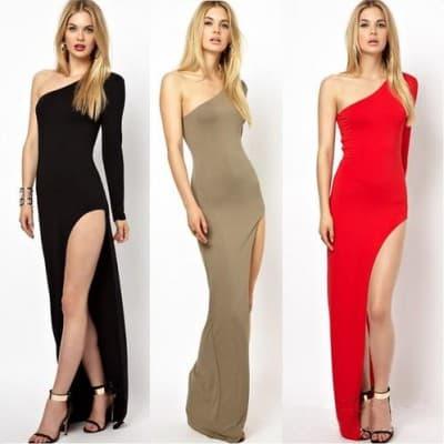 Платье спереди короткое сзади длинное: как называется, модели