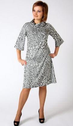 платье трапеция из купонной ткани