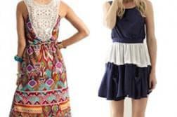 простое платье для девочки 10 лет