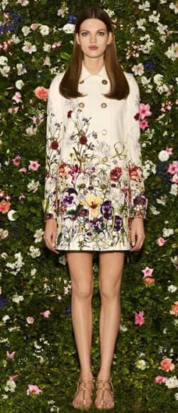 платье из купонной ткани от Frida Giannini