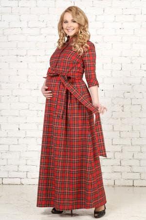 платье с длинным рукавом для беременных
