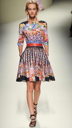 итальянское платье из натурального шелка от дизайнера моды Michael van der Ham