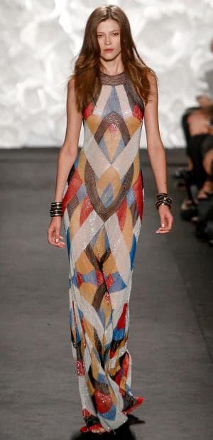 итальянское платье из натурального шелка от Naeem Khan