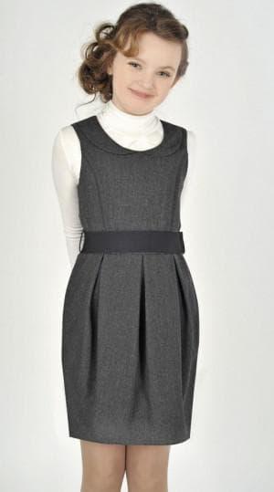 школьный сарафан платье для девочки подростка