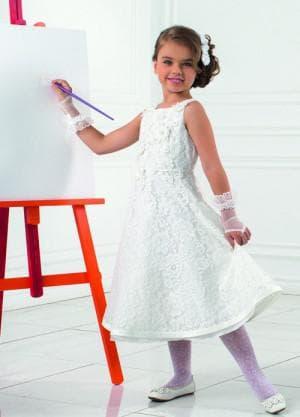 новогодние белое платье для девочек 12 лет