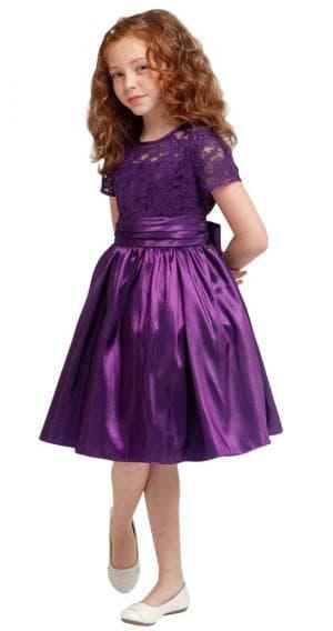 новогодние фиолетовое платье для девочек 12 лет