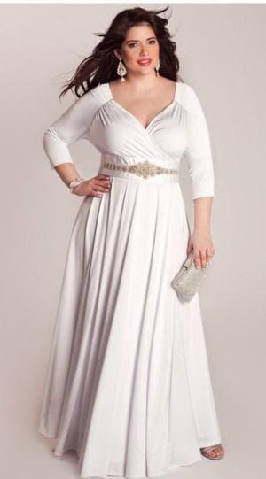 греческое платье для больших женщин