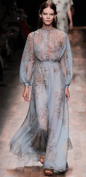 итальянское платье из натурального шелка от Valentino