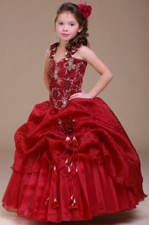 новогодние красное платье для девочек 12 лет