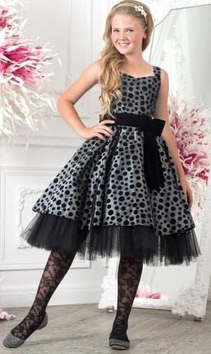 новогодние чёрное платье для девочек 12 лет