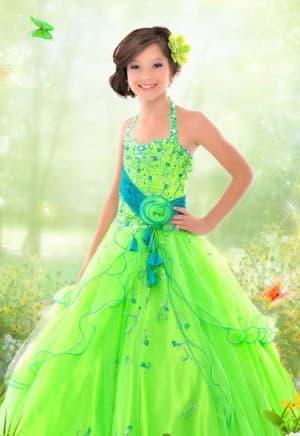 новогодние зелёное платье для девочек 12 лет