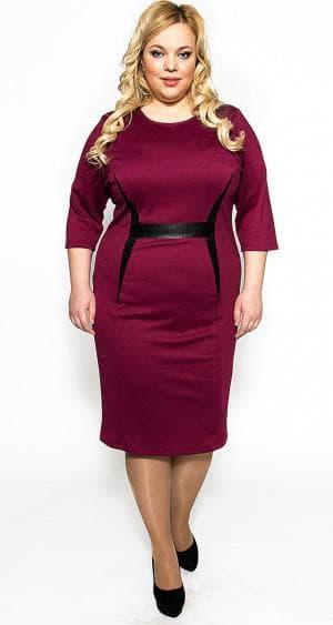 платье для больших женщин из России