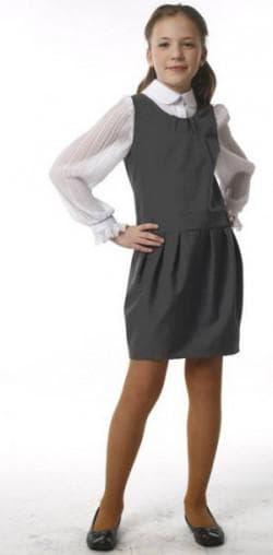 школьный сарафан юбка тюльпан для старшеклассниц