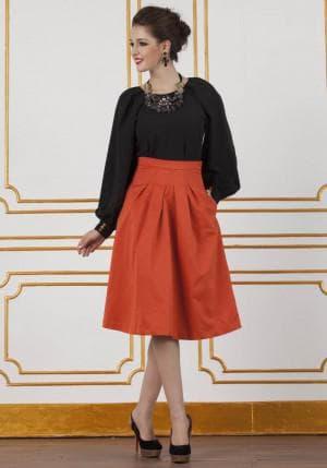 французская длина платья