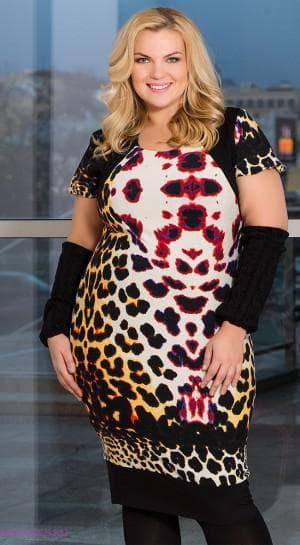 платье для больших женщин из Турции