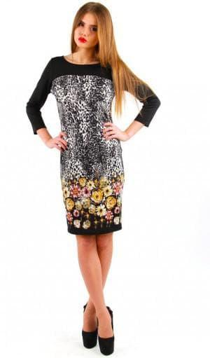 платье французской длины от Liza Fashion
