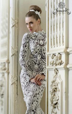 платье из ирландского кружева от Annora