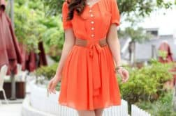 модели красивых летних платьев