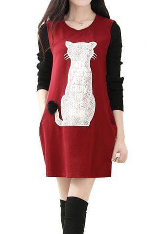 платье рубашка из бархата для беременной
