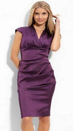 платье футляр для девушек с широкими бёдрами