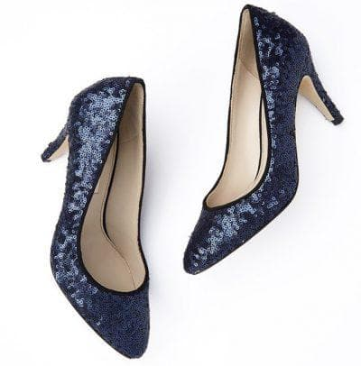 обувь для платья с пайетками