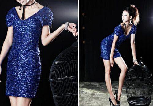 украшения для платья с пайетками