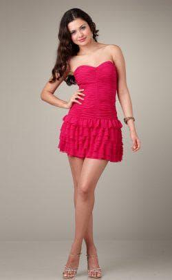 розовое платье для подростка